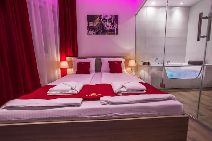 Royal Red Suite Belgrade