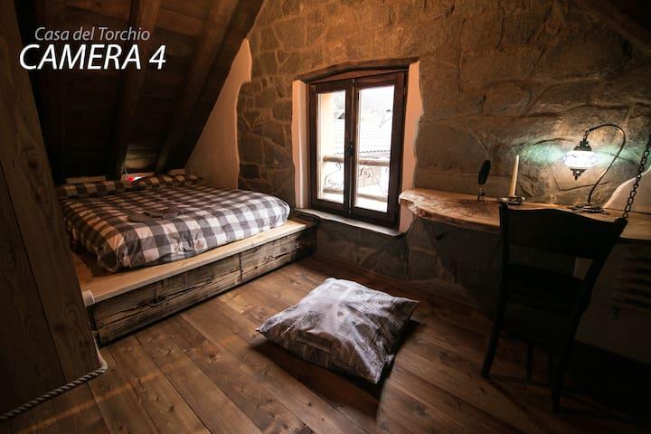 Casa del Torchio - Crodo [Posti: 10 - Camera 4/4]