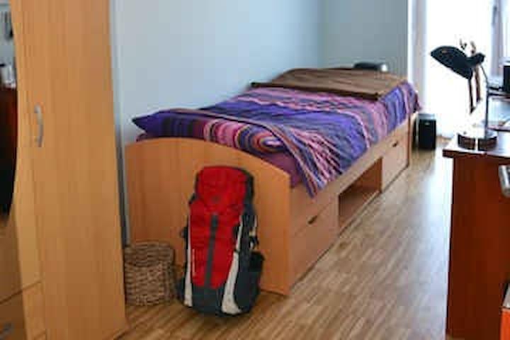 Zimmer, Nähe Messe, eigenes Bad - München - Wohnung