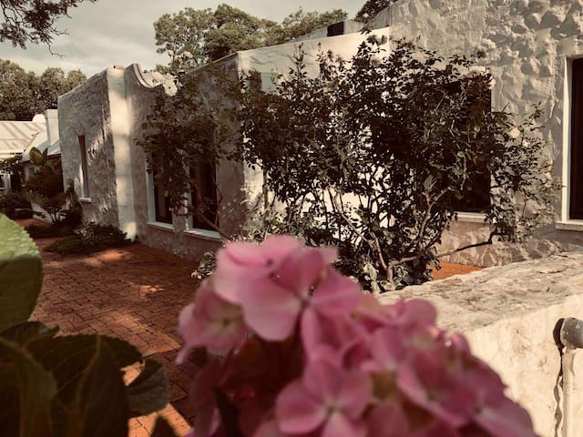 5 mins from Sandton City on a 160 yr old  property