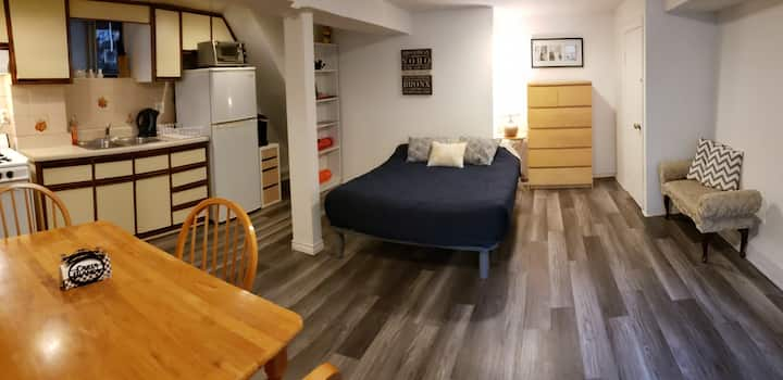 Single Guest Studio Apt Downtown (Near Subway)