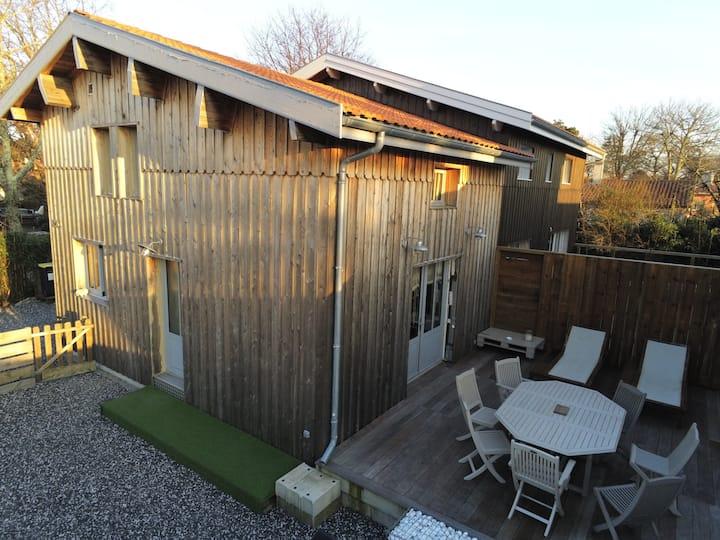 """""""La cabane 26 D"""" maison bois au calme 5 couchages"""