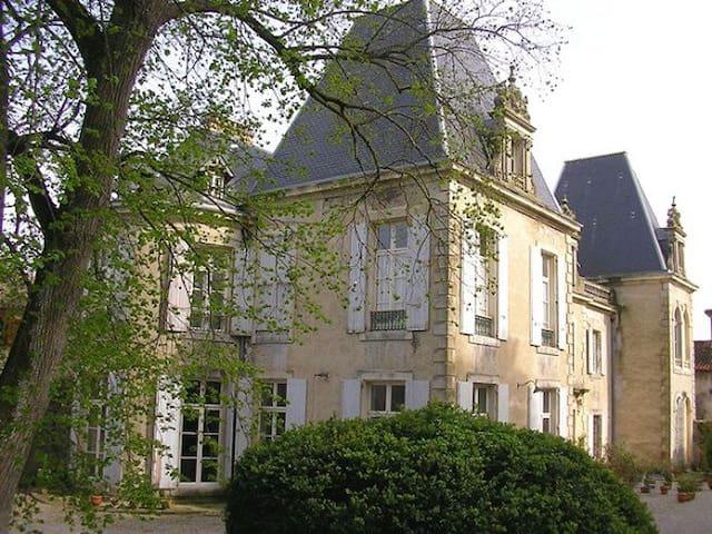 Château de St Michel de Lanès - Saint-Michel-de-Lanès - Bed & Breakfast
