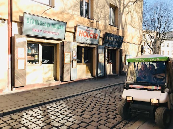 Szeroka Street in Kazimierz Quarter