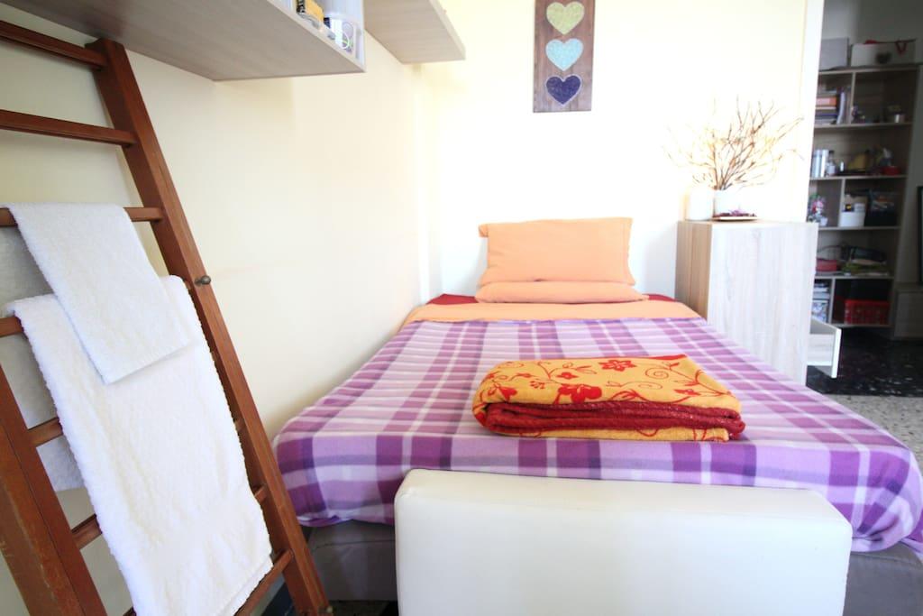Mettiamo a disposizione un set di asciugamani puliti e disinfettati per ogni ospite che effettuerà il soggiorno!