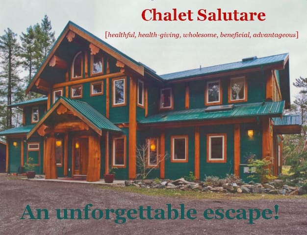 Come and experience our beautiful Chalet Salutare - Nanoose Bay - Natur-Lodge