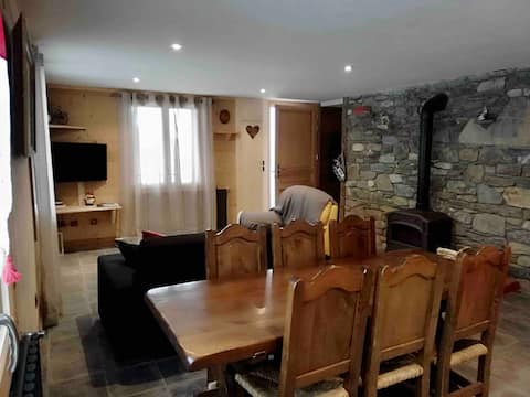 T3 mountain chalet, 70m2 free shuttle
