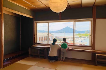 Ocean front views with Mt.aoba Fuji【Private Room】