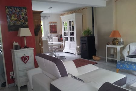 LA MAISON ROUGE - Genas - Bed & Breakfast