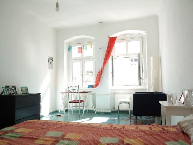 Cosy bright room in Prenzlauer Berg