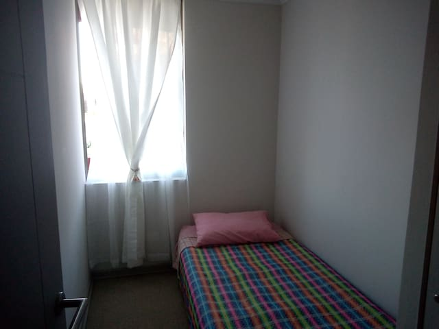 Habitación privada con cómodo colchón inflable