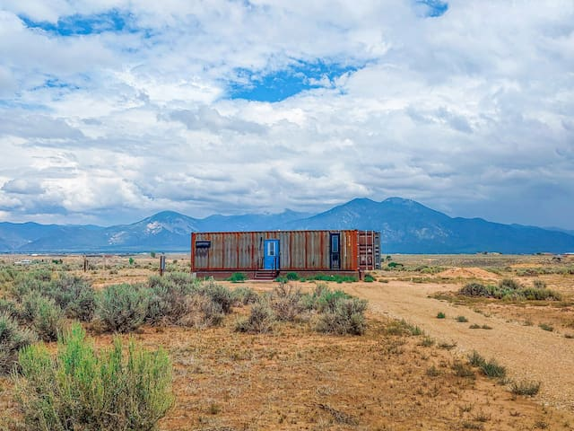 Shipping Container Home: The Steel Pueblo ⛰ ⛰ ⛰
