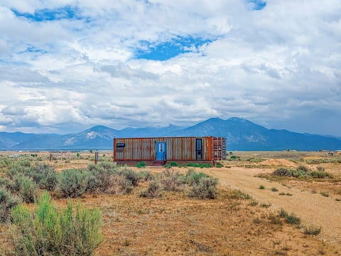 Shipping Container Home With Mountain Views ⛰ ⛰ ⛰