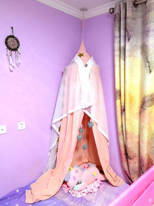 网红小帐篷,萌化少女心