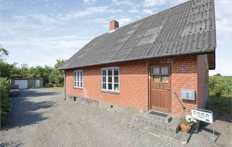 Holiday cottage with 4 bedrooms on 140m² in Roslev