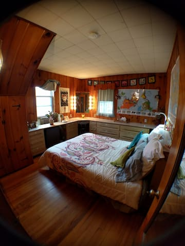Cozy World Traveler Room - Collingswood - Σπίτι