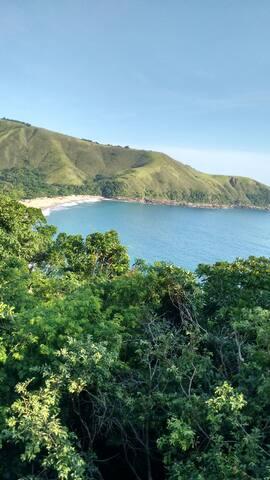 Vista dá praia