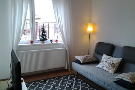 Sunny flat with balcony+garage in downtown - Budapeşte