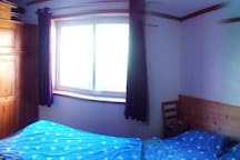 Schlafzimmer Panorama