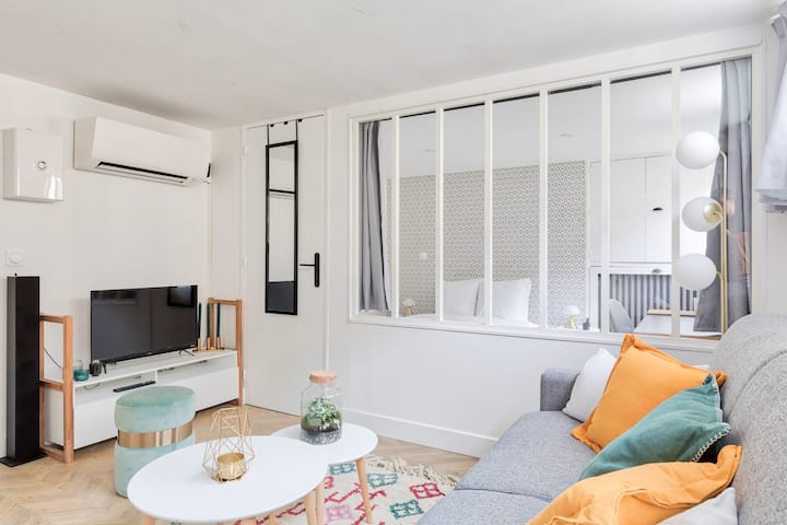 ♥ Apartment Refurbished near Arc Triomphe - 4P