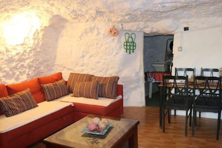 Authentic Cave House Experience - 산 바르톨로메 데 티라하나 - 동굴