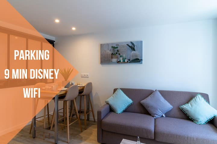 Le Zen ★ CosyRenting ★ Parking ★ 9 min Disney
