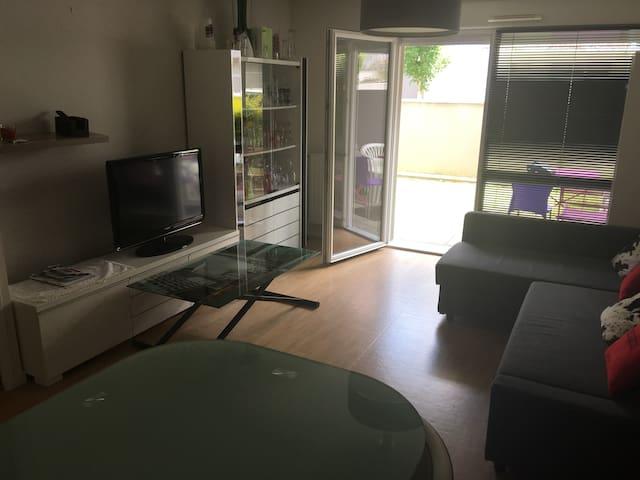 Appartement au RDC de 49 m2