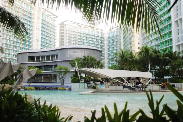 New 2 BR w/ a view of Laguna Bay and Beach Resort