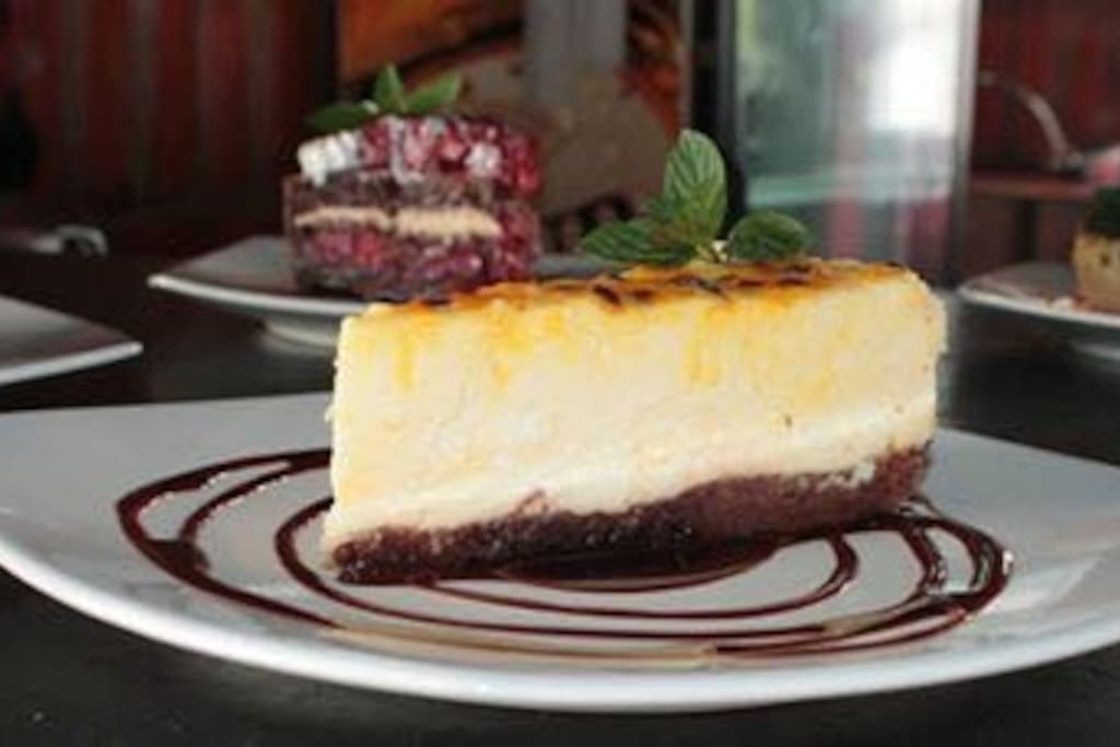 Cake - Cheescake Maracuya