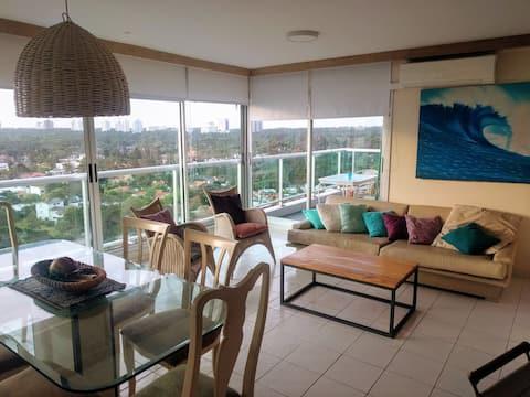 Palm Beach parada 8 de la Mansa piso 16 vista