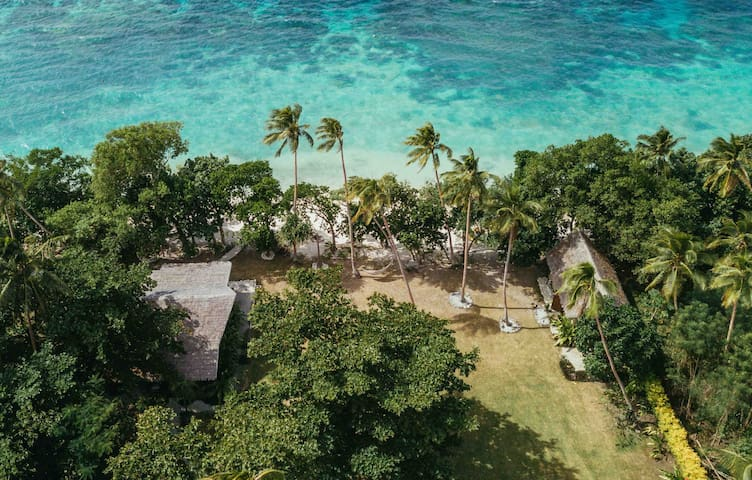 Whispering Palms -Two Absolute Beachfront Villas