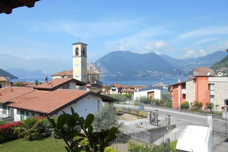 Apartment in Sulzano with lake view - Sulzano