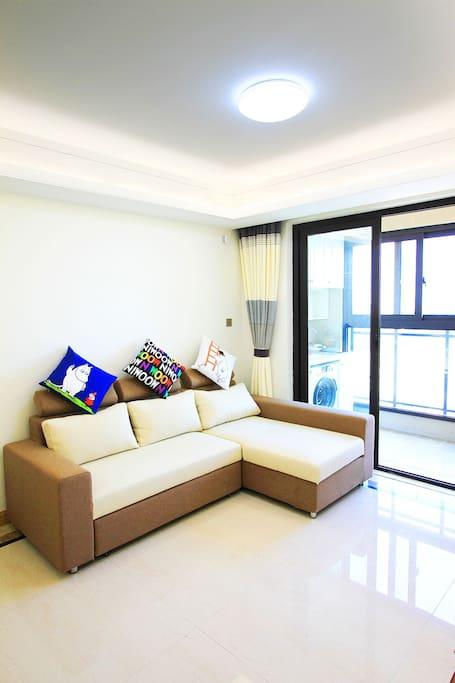Living room - sofa bed 沙发床