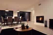 Livingroom - fireplace