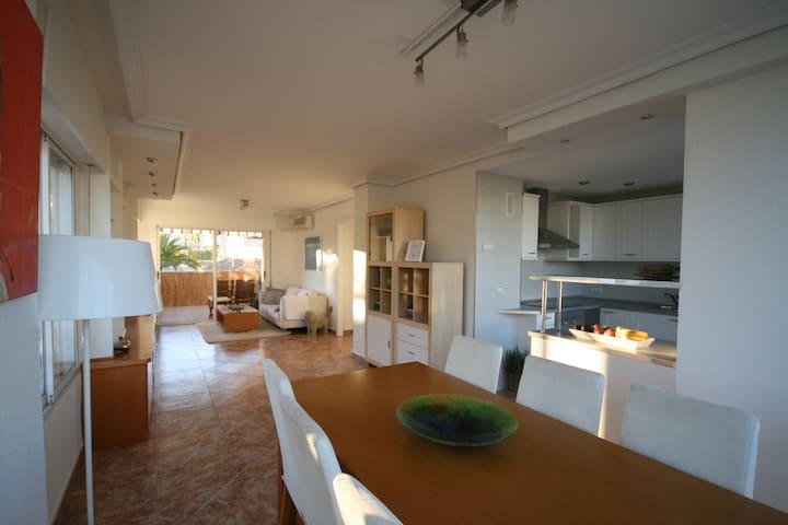 Lys og moderne leilighet midt i Albir sentrum - l'Alfàs del Pi - Appartement