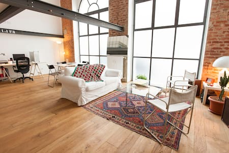 NICE AND COSY LOFT+GARDEN/WI-FI - Milano - Apartment