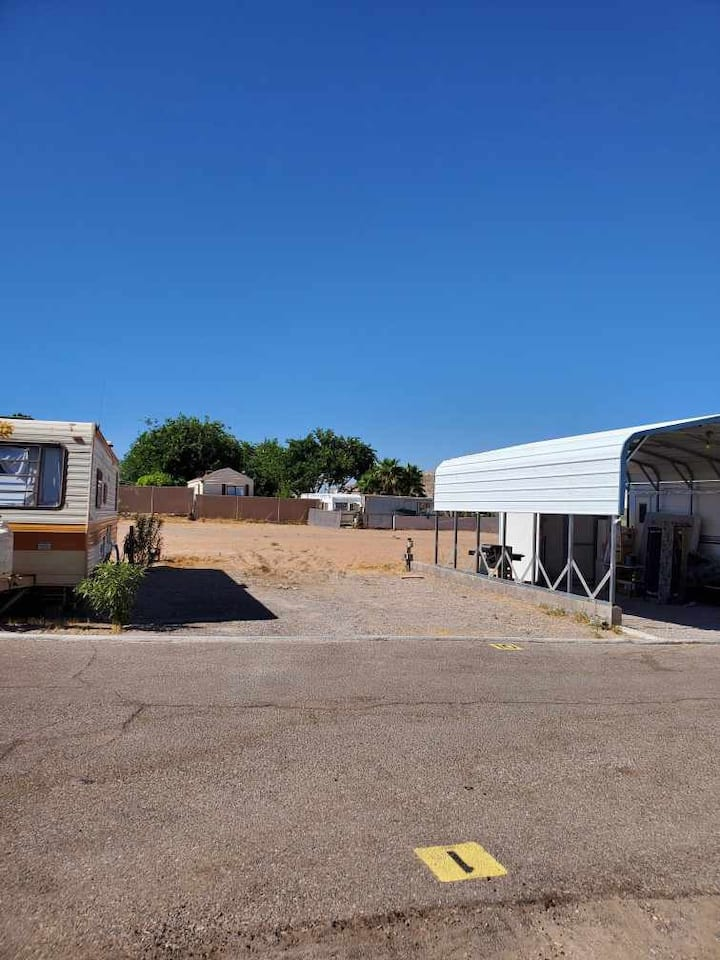 RV Hookup space available