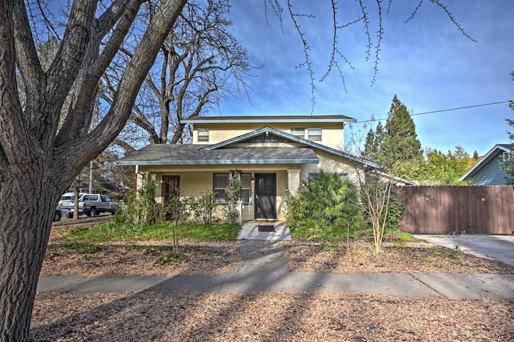 Spanish Classic 2BR Chico House-Near Downtown - Chico