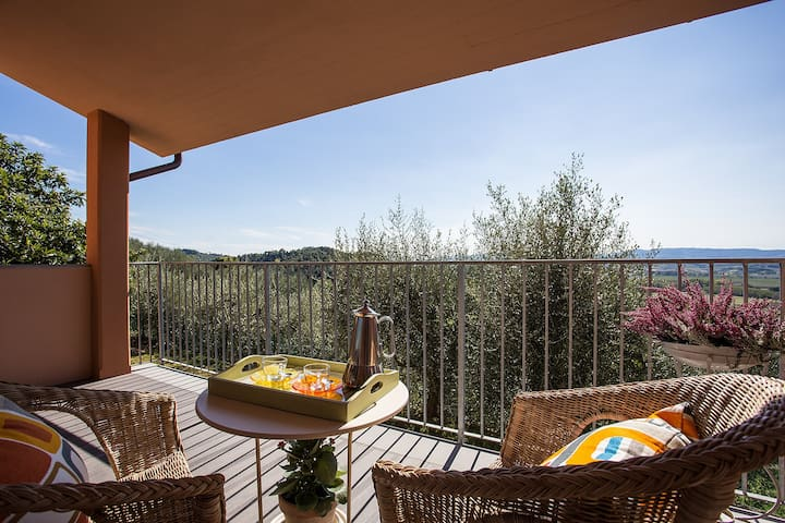Apartment in the Tuscan country from Pisa-Florence - Pontedera - Huis