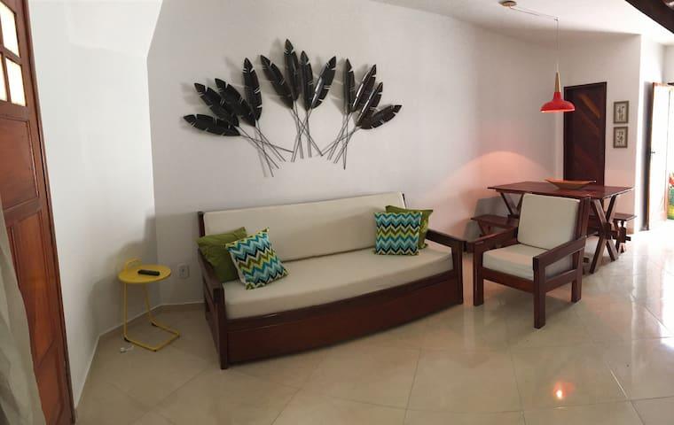 Maravilhoso condomínio a 100 metros da praia - Porto Seguro - Apartment