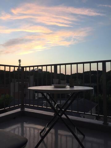 近大濠公园,20㎡大阳台顶楼公寓,日式卧房整套入住(适合2-3人)