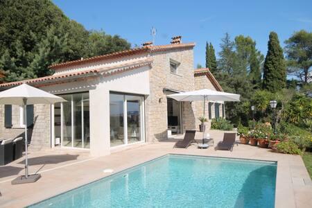 Villa contemporaine à 2 minutes des plages - Mandelieu-la-Napoule - Villa