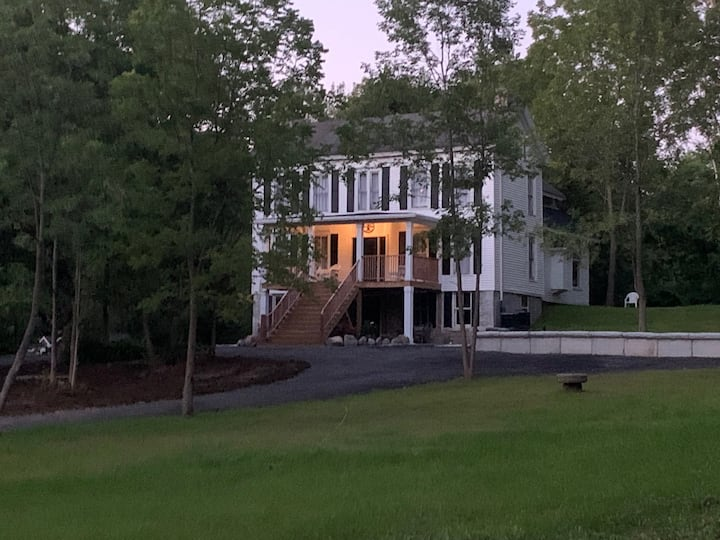 Two Skaneateles Homes on property.