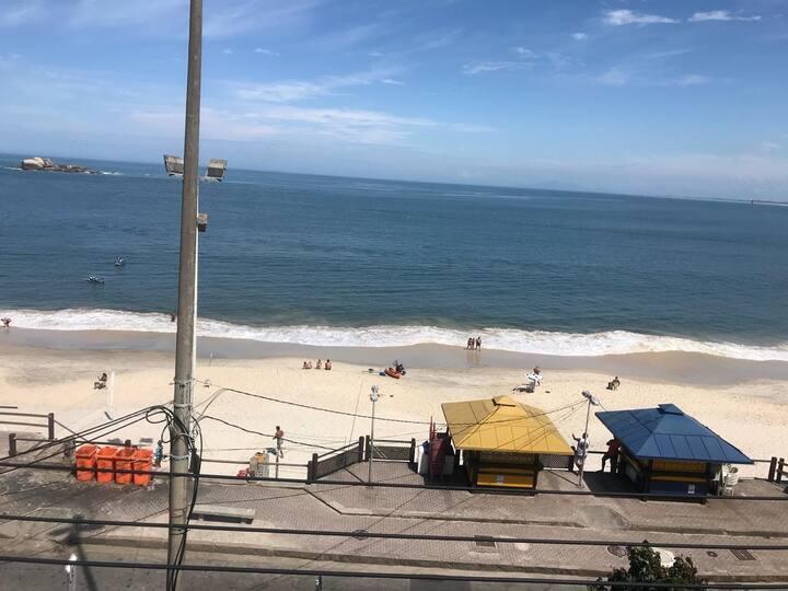 Loft em frente a praia