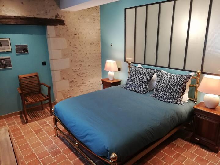 """Touraine, Les Granges de l'Epan, chambre """"Hélène"""""""