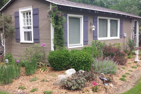 Charming Garden Cottage - Pentwater - Banglo