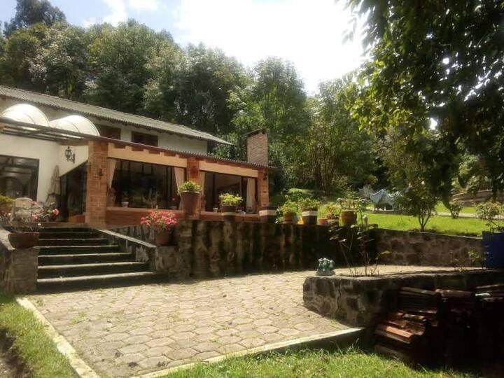 Rancho Alegre, paz, tranquilidad y relajación.