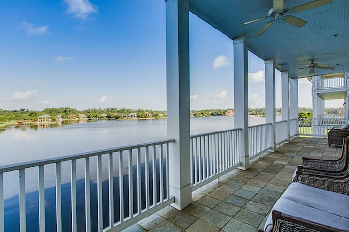 Waterfront Oasis near Town Center & I45 (1 of 3) - The Woodlands - Apartamento