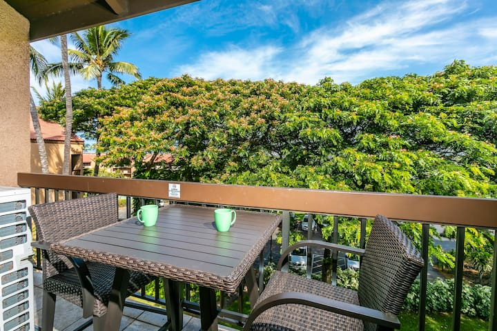 Maui Vista 2416-Enjoy Morning Coffee on our Private Lanai