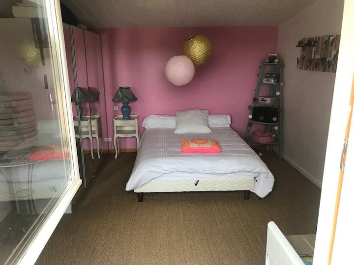 Suite Familiale, 2 chambres.Espace privé
